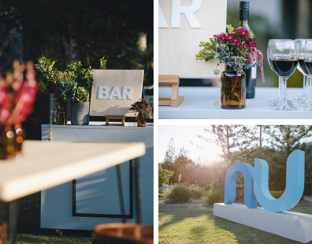corporate event styling sunshine coast bar