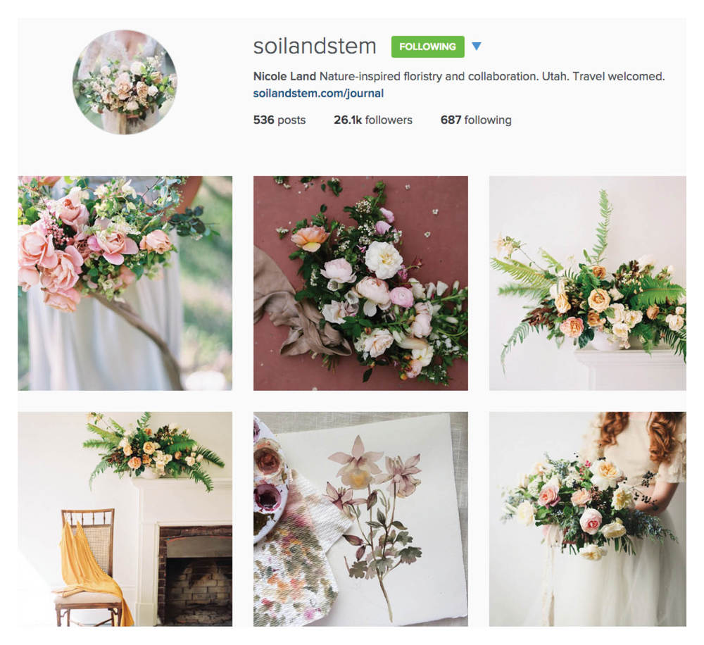 inspirational wedding instagram accounts