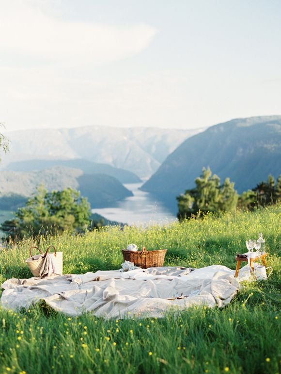 picnic vow renewal - how to style your picnic wedding
