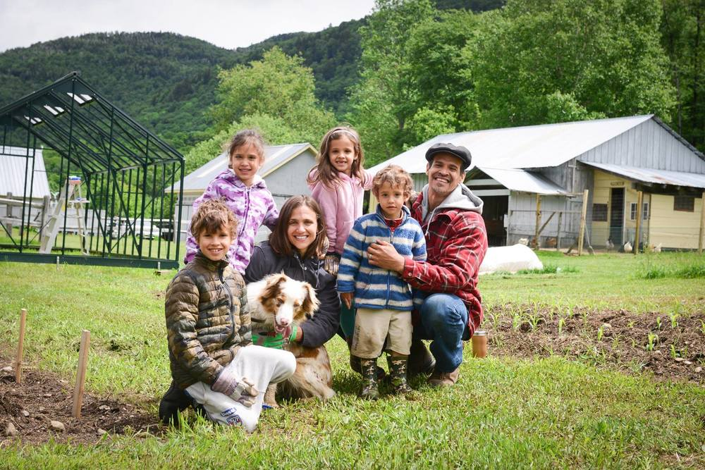 The Harris Family of Shangra La Farm, Starksboro, Vermont