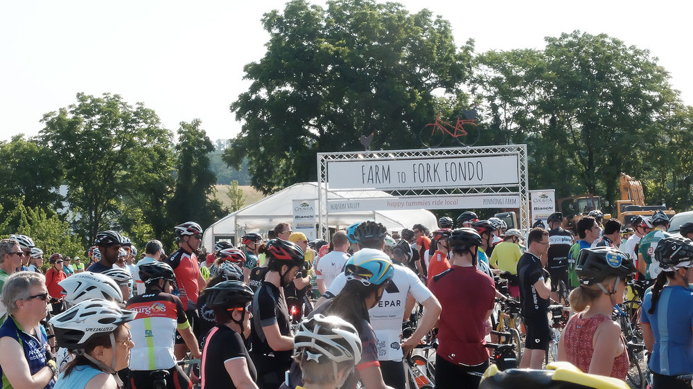Farm to Fork Fondo is a gourmet farm to table bicycle event