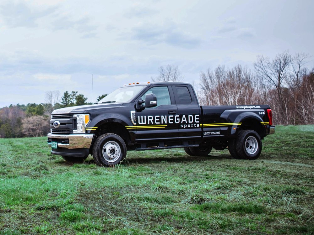 The new Wrenegade Sports support truck will be on course at all 2017 events. Photo credit Danielle Rose Hazelton
