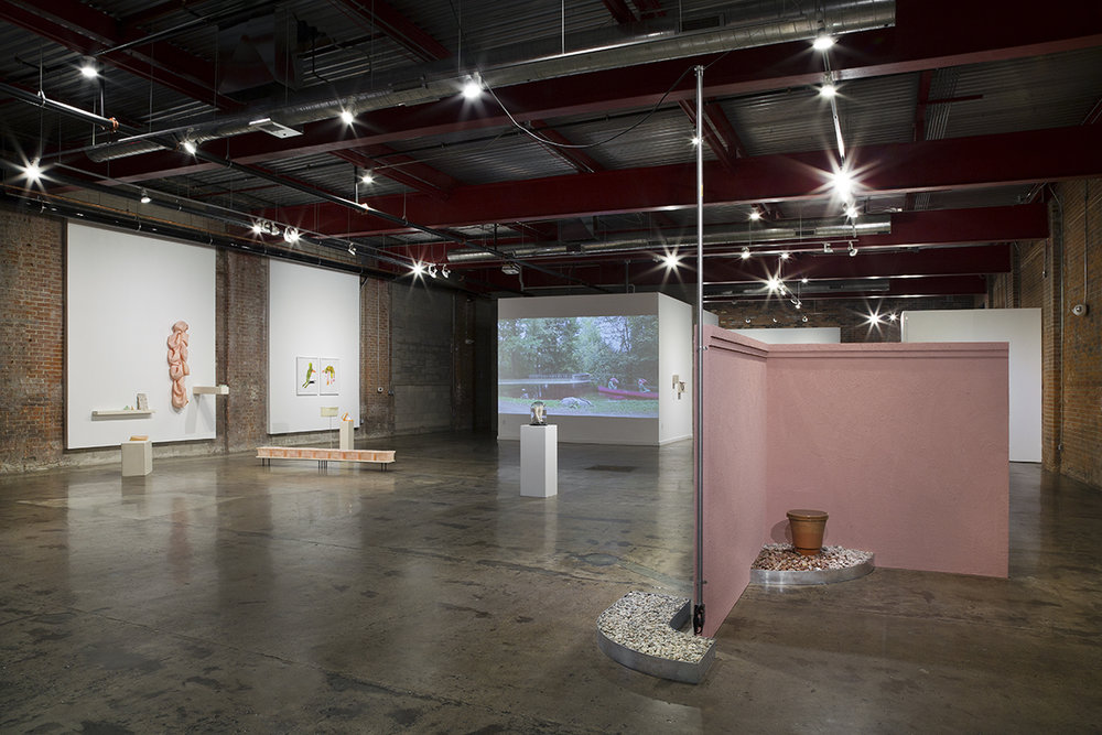 Installation view,  Have + Hold