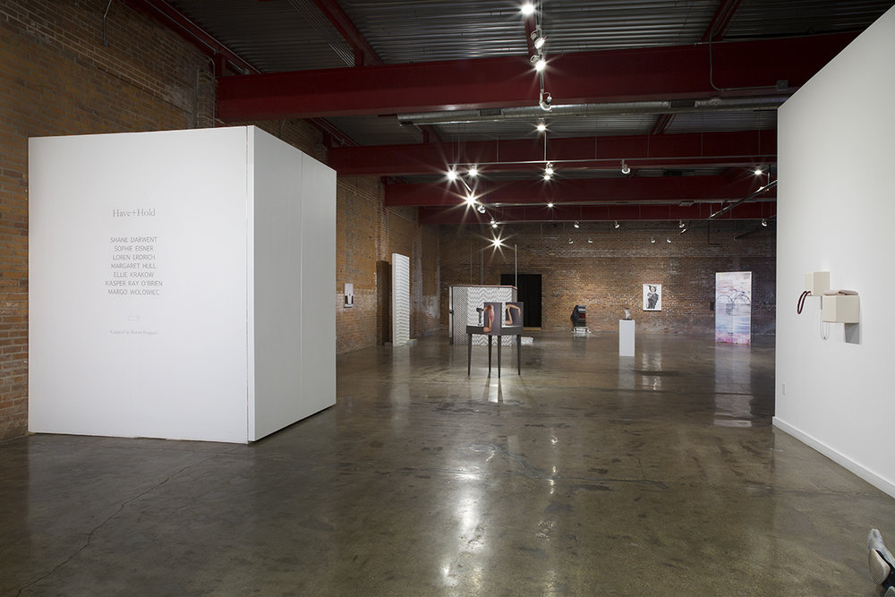 Installation view of  Have + Hold  at Wasserman Projects, Detroit