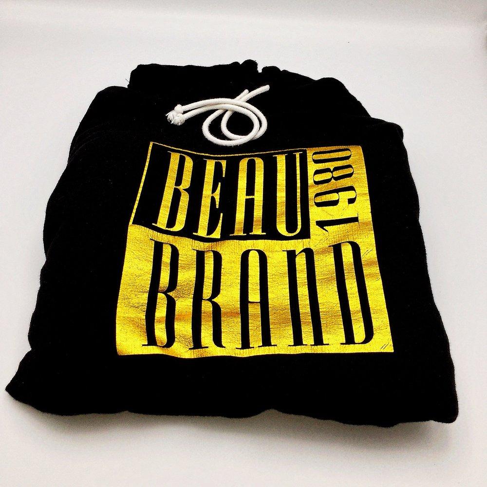Beau Brand Origin Logo - Gold Foil