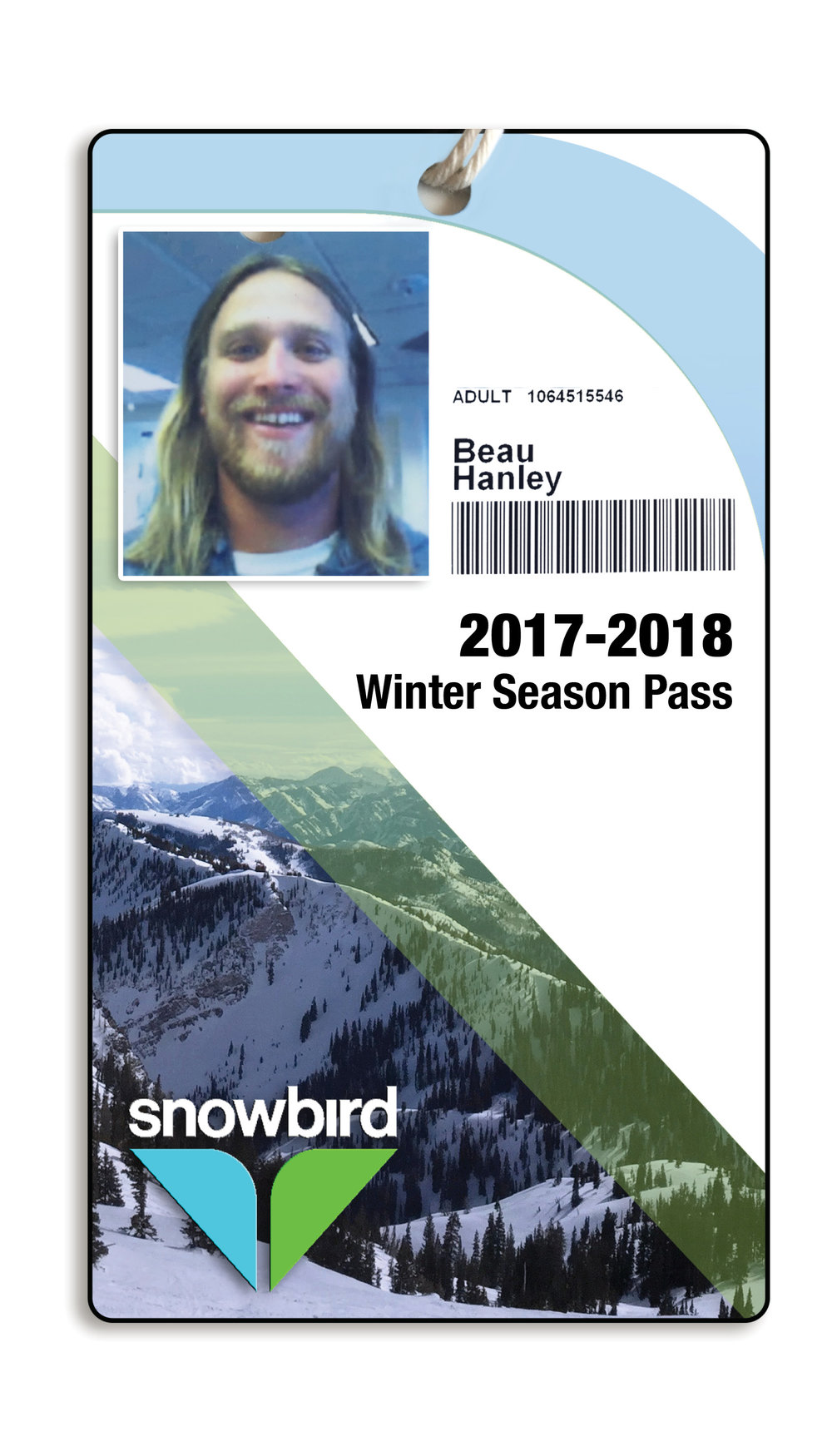 - Branded Season PassThis is a personal project that I created after a week of skiing in Utah for one of my best friend's bachelor party.  Snowbird is an amazing destination for skiers and snowboarders from all over the world.  It snows a ton and the views are breathtaking.  I shot the photos, edited the photos and created this brochure and season pass. This pass goes along with the branding from the brochure I designed.