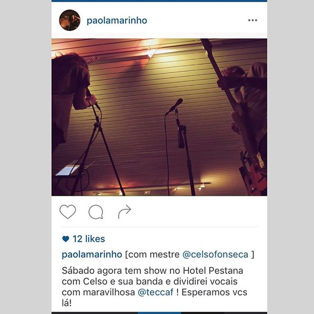 #regram @paolamarinho 🙌🏼