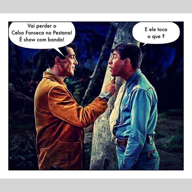 Você também vai perder? 😁 É amanhã às 22:00hs. #celsofonseca #jazz #pestanapalace