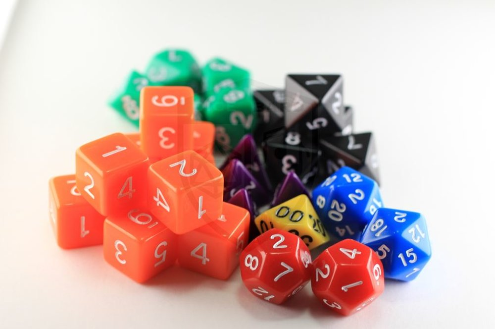 Complete 29 Piece Dice Adventurers Kit