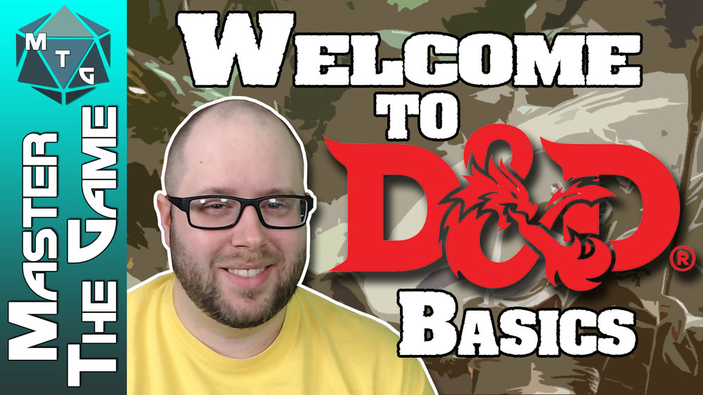 The next series is going to be Introduction to DnD Basics. This is the series to show to people who are new to Dungeons and Dragons.