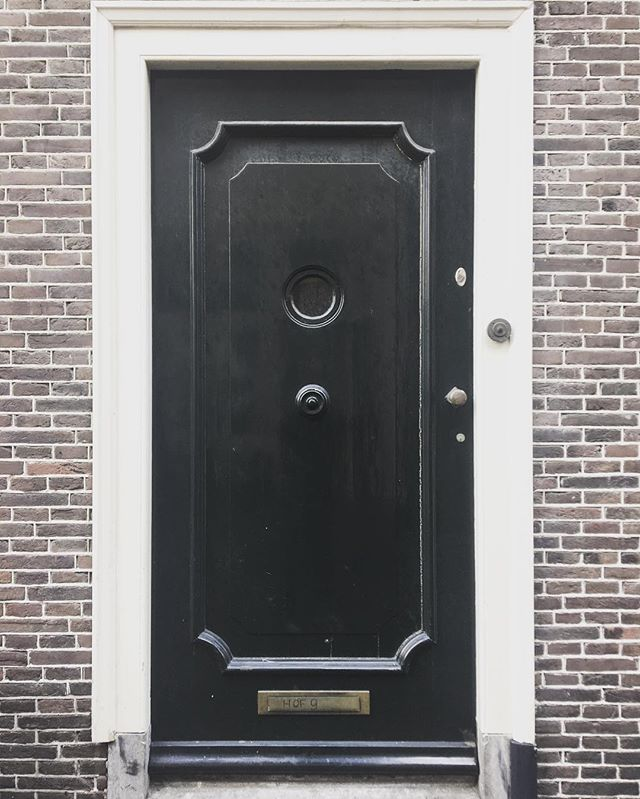 A pretty door and nothing more. #amersfoort #nl