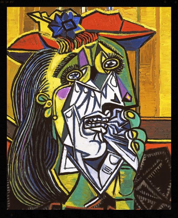 La Llorona (The Crying Woman), Pablo Picasso, 1937
