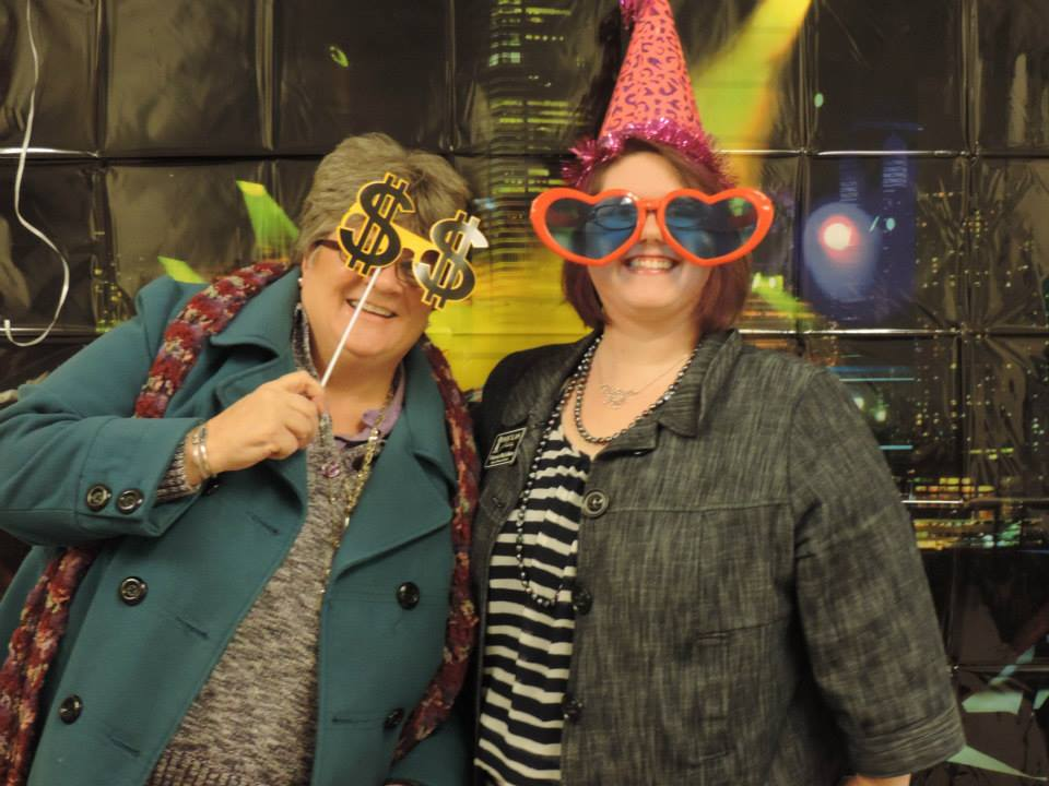 Look, do we know how to rock a photo booth, or what?