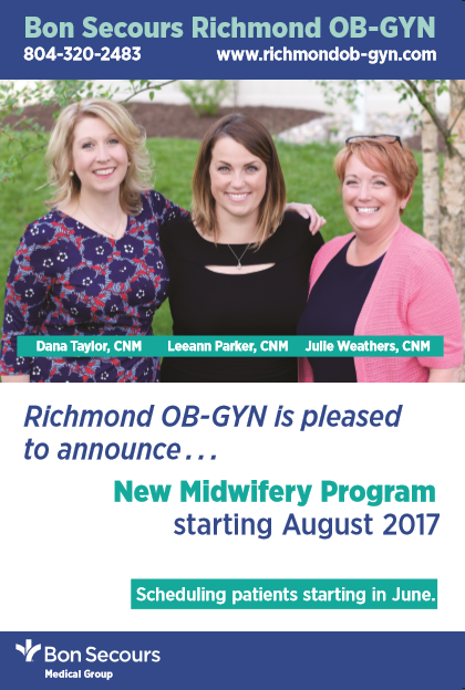 Richmond VA midwife