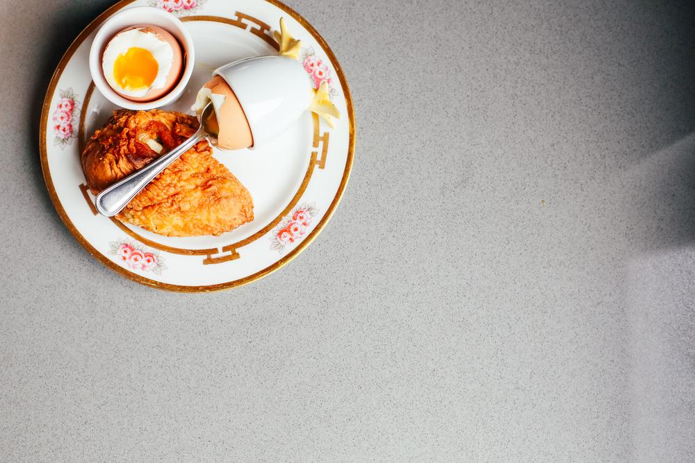 fallen egg