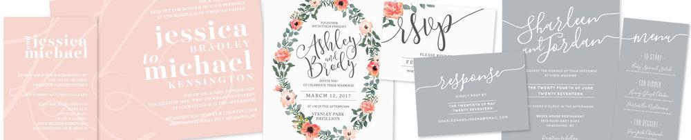 Wedding Invitations Canada