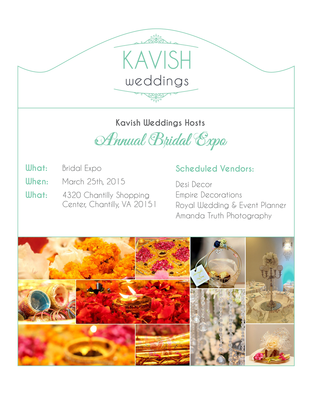 Branding: Kavish Weddings — Sunia Hamid