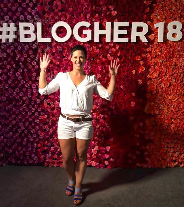 """Day 1 of my first @blogher conference landed somewhere between educational, inspiring, and validating. ⠀⠀ ⠀ As an entrepreneur, and a woman business owner, even with almost a decade in my field and 5 years of running a business under my belt, I still doubt myself and my skills sometimes. ⠀⠀ ⠀ Even thought my track record speaks for itself and my referral business is booming, I still get self-conscious when I see other social media experts ads promising """"fast followers growth with real engagement from people who will actually care about your product/service/idea."""" But, in all of the keynotes, breakout sessions, and Q&As, every time the idea of success-by-recipe, fast growth, and short cuts came up, one thing was consistent across the board (and it's the way I've been running my business for years)... ⠀⠀ ⠀ @marieforleo said it. @gabunion said it. @anniewang @thisisvideopop @dayshaveronica and @kayhsu said it. ⠀⠀ ⠀ Leading authentically with high-quality, valuable content is THE only way to gaining REAL, LOYAL followers who are going to trust you enough to turn into customers and clients. ⠀⠀ ⠀ This might mean fewer followers. This might mean your account grows more slowly. This might mean you post less often. And all of this is perfectly okay. ⠀⠀ ⠀ Consistency for you might mean posting every 2 or three days. But when you DO post, your followers can expect a great quality image or video accompanied by a caption that either educates, entertains, or inspires them. ⠀⠀ ⠀ And remember, if you're just starting out, @marieforleo kept her side-hustles for SEVEN YEARS before she went full-time with MarieTV. ⠀⠀ ⠀ Be patient. You've got this. Keep going! ⠀⠀ ⠀ I'm on my way to @BlogHer for day two and I can't wait to report back with more wisdom nuggets! #somethinggreater #socialmedia #blogher18 . . . . . #socialmediablogger #blogher #fempreneur #girlbosslife #yogaoffthemat #shemeansbusiness #womeninbiz #authenticity #womeninspiringwomen #authenticself #bossbabe #consciousentrepre"""