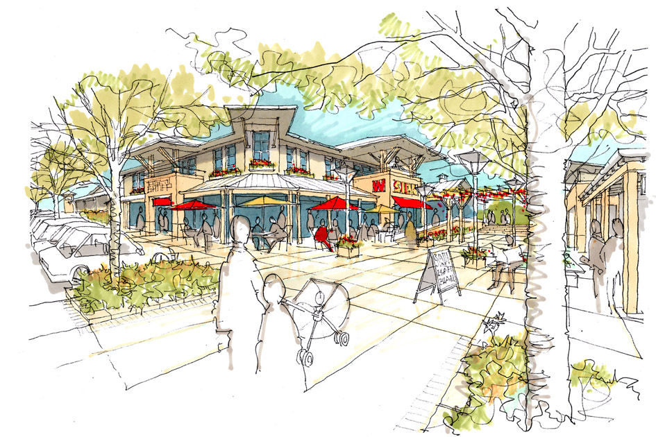 Renwickvillage centre sketch.jpg