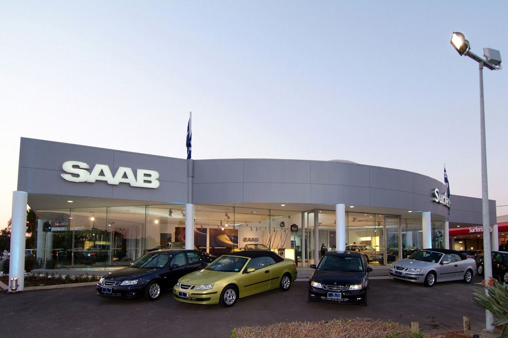 SAAB AUSTRALIA AND NEW ZEALAND SHOWROOMS