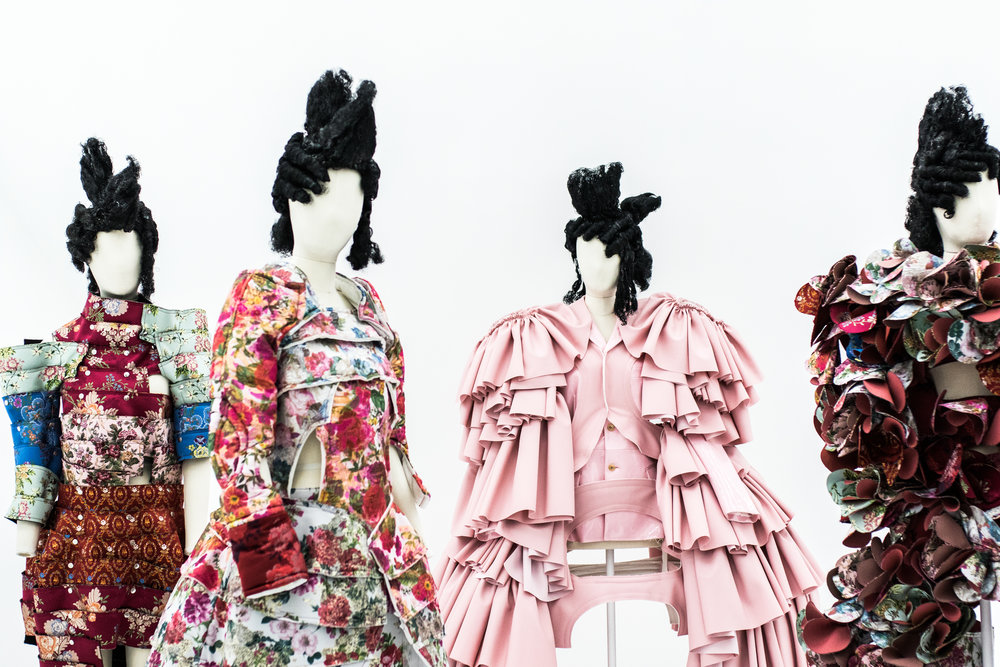 """Order/Chaos. """"Am I an anarchist? In the sense that anarchy equals freedom, yes. Anarchy means freedom, but it also means chaos."""" Rei Kawakubo (2016)"""