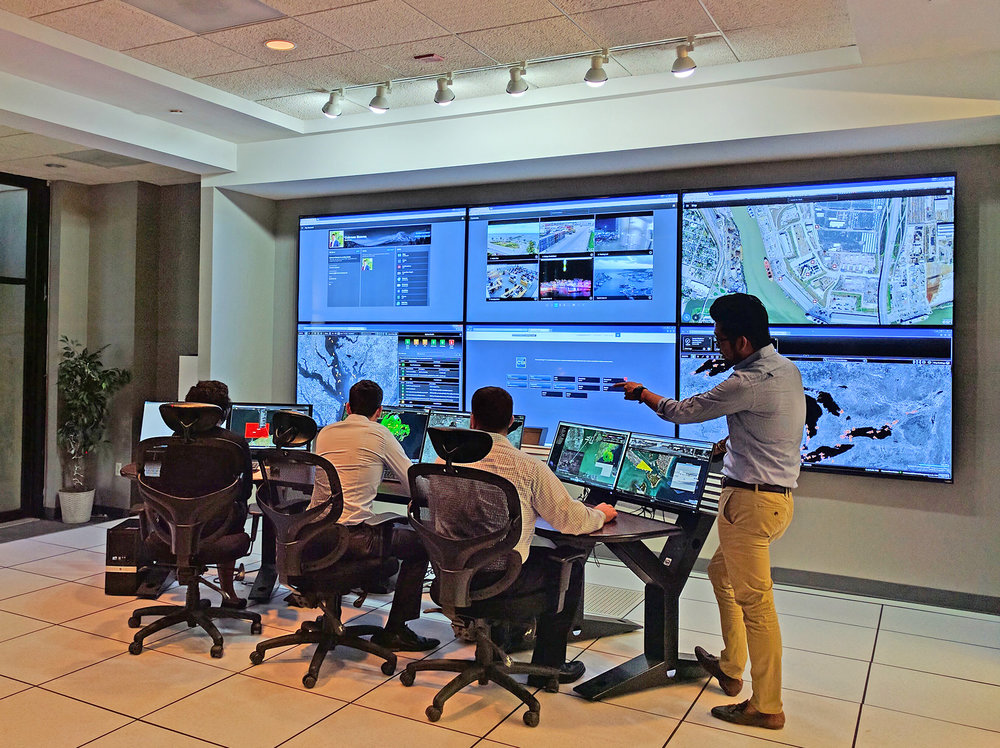 ARES Security Corporation's Command Center