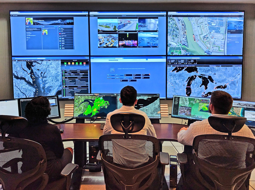 ARES Security Corporation Command Center
