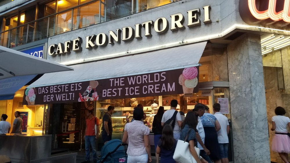 See? Many places say Cafe Konditorei.