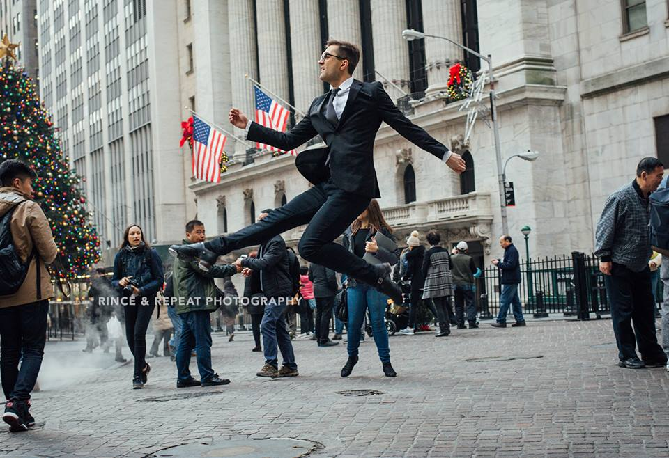 The Working Dancer on Wall Street ft. Michael Piotrowski