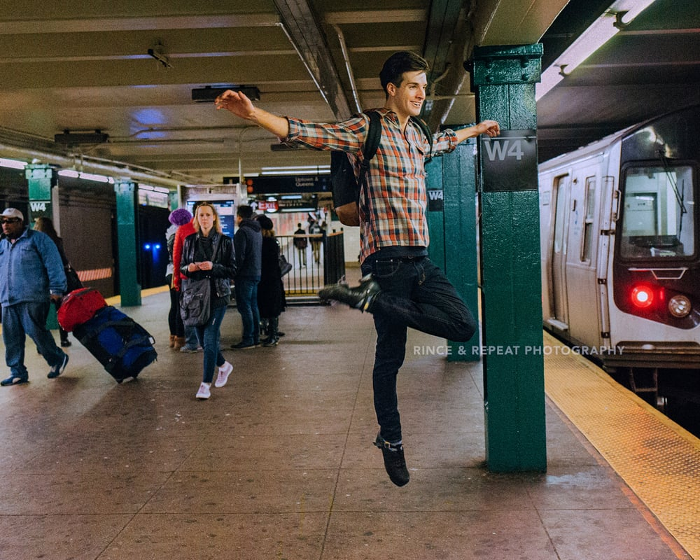 The Subway Dancer ft. Joe Harrison