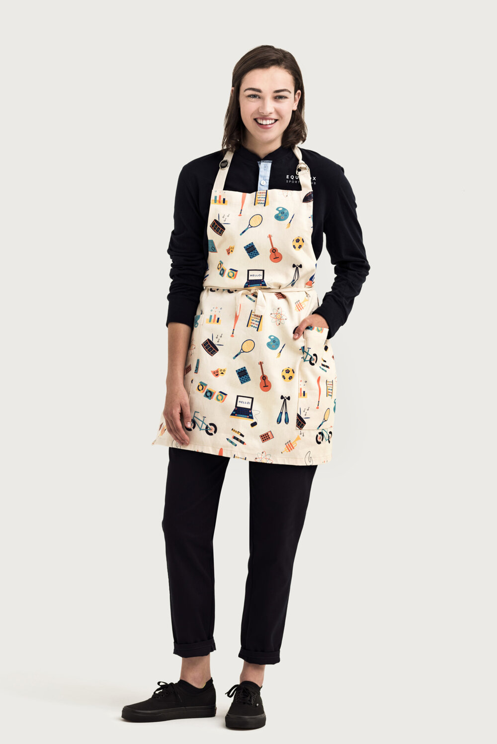 Apron with Custom Fabrics