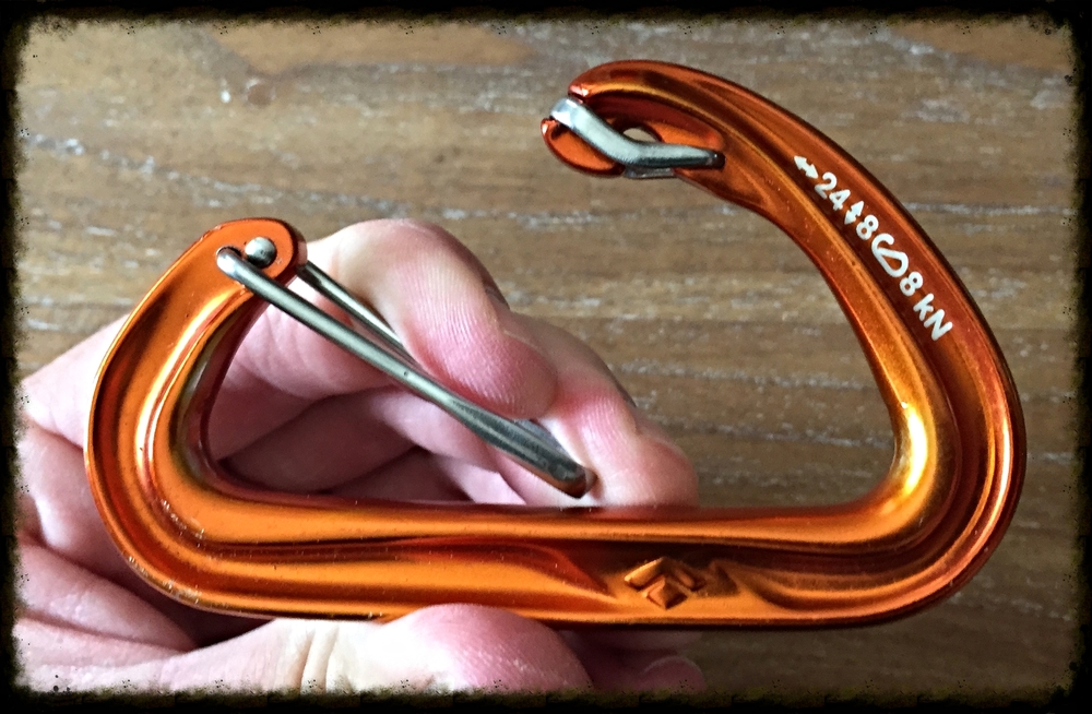 carabiner open gate austere environments llc