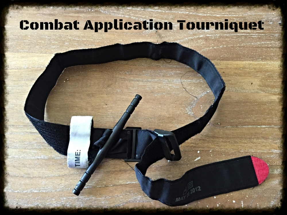 CAT tourniquets feature a plastic windlass rod and velcro strap. They are lightweight and extremely easy to use. One draw back is that the plastic windlass rod can potentially break if overtightened or when used in very cold environments.