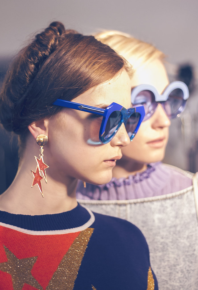 BACKSTAGE   KAREN WALKER S/S 2016