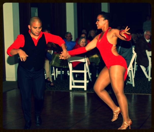 Salsa Dancing - Leah Patterson and Al Rivera