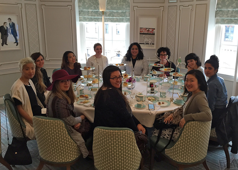 High Tea at Fortnum & Mason.