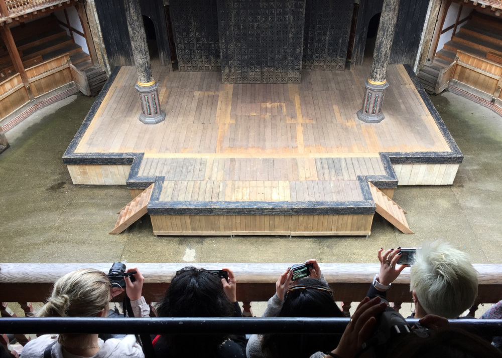 Tour of Shakespeare's Globe Theatre.