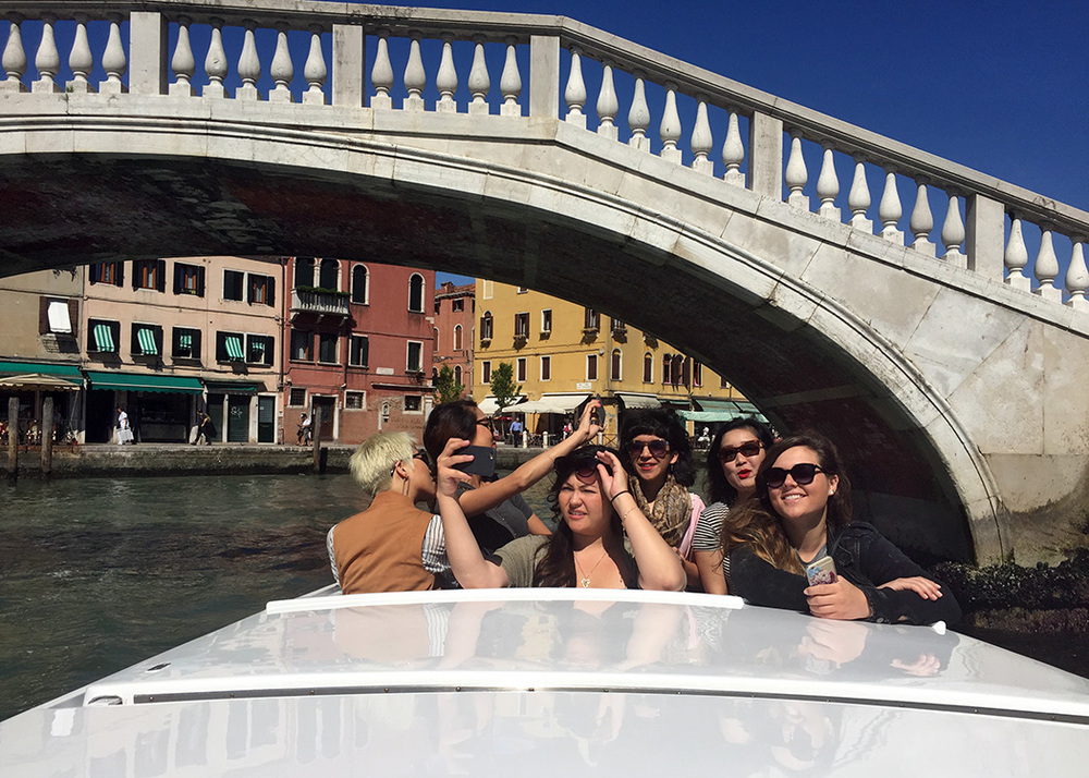 While in Florence we took a day trip to Venice. A highlight from this study tour, seeing one of my favorite cities through their eyes,