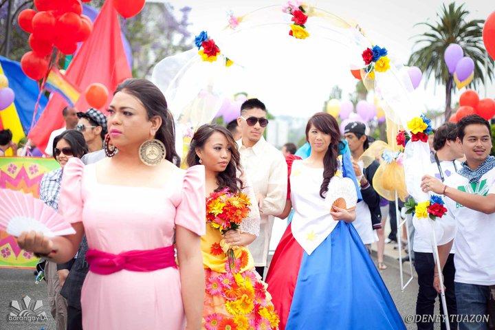 Sagala at LA Pride