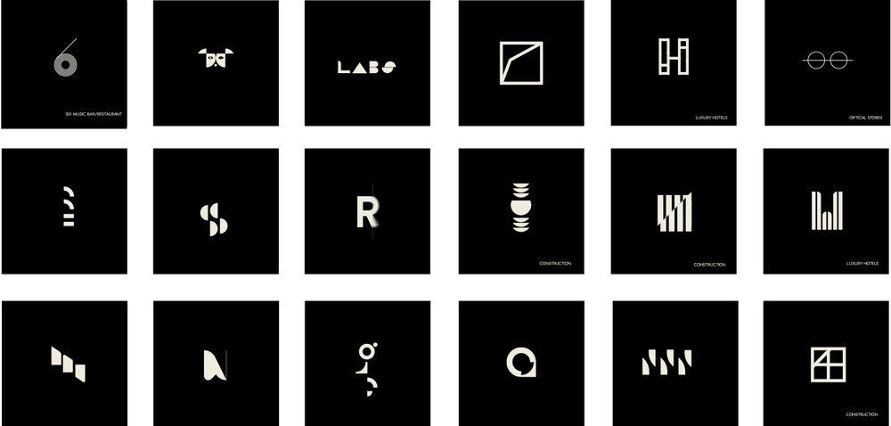 LogoMarks - Geometric Explorations