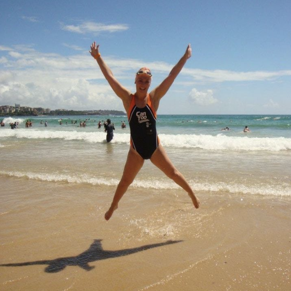 Exercise Physiologist Anna Moule Can Too Ocean Swimming