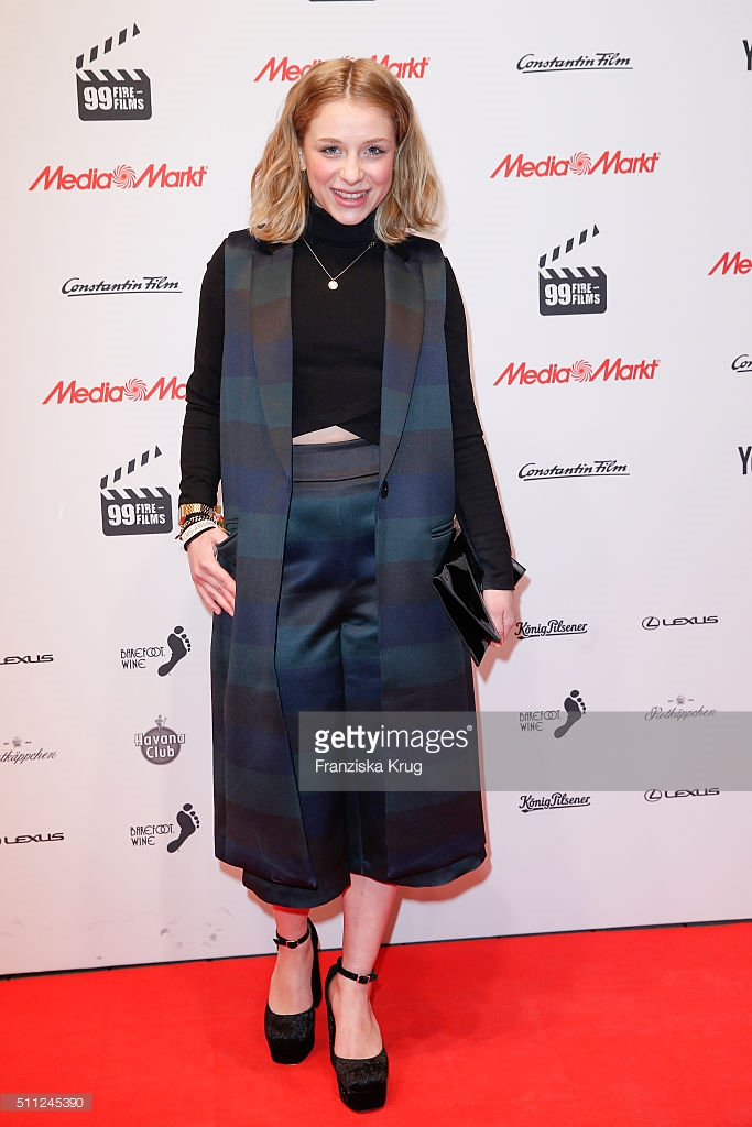 Anna Lena Klenke in asos beim 99Fire Film Award am 18.02.2016