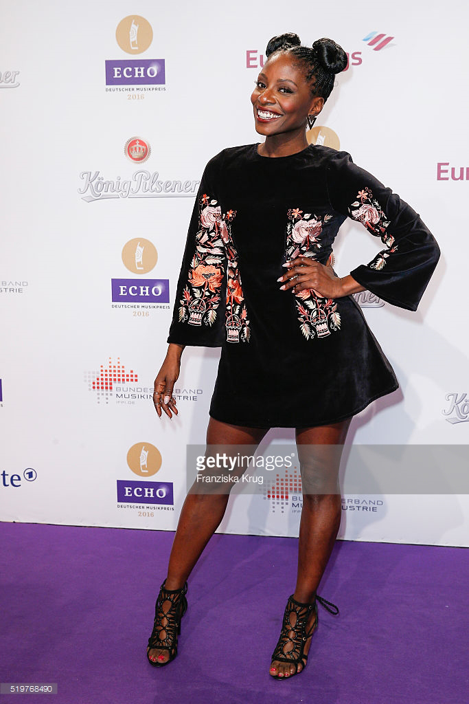 Nikeata Thompson in asos beim ECHO Award am 07.04.2016