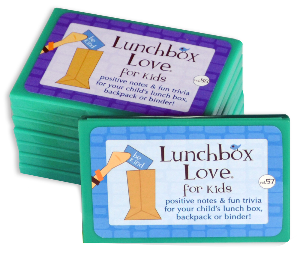 Lunchbox Love Notes in boxes