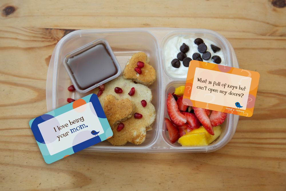 Lunchbox Love Notes in lunchbox
