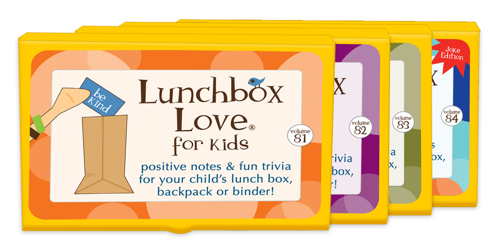Lunchbox Love Notes set 5