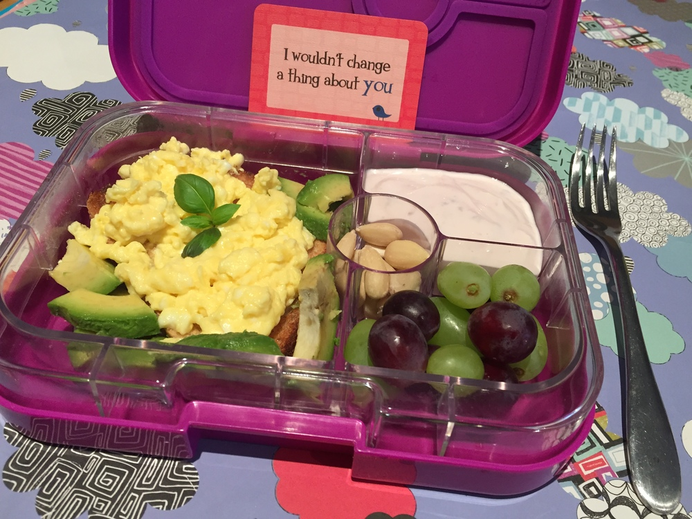 Yumbox Mothers Day breakfast in bed