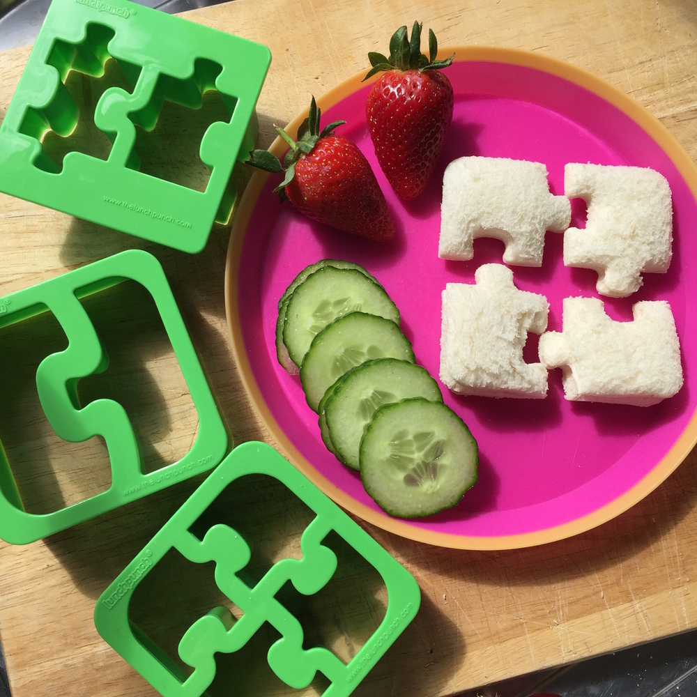 Lunch Punch Sandwich Cutters - Match and Munch