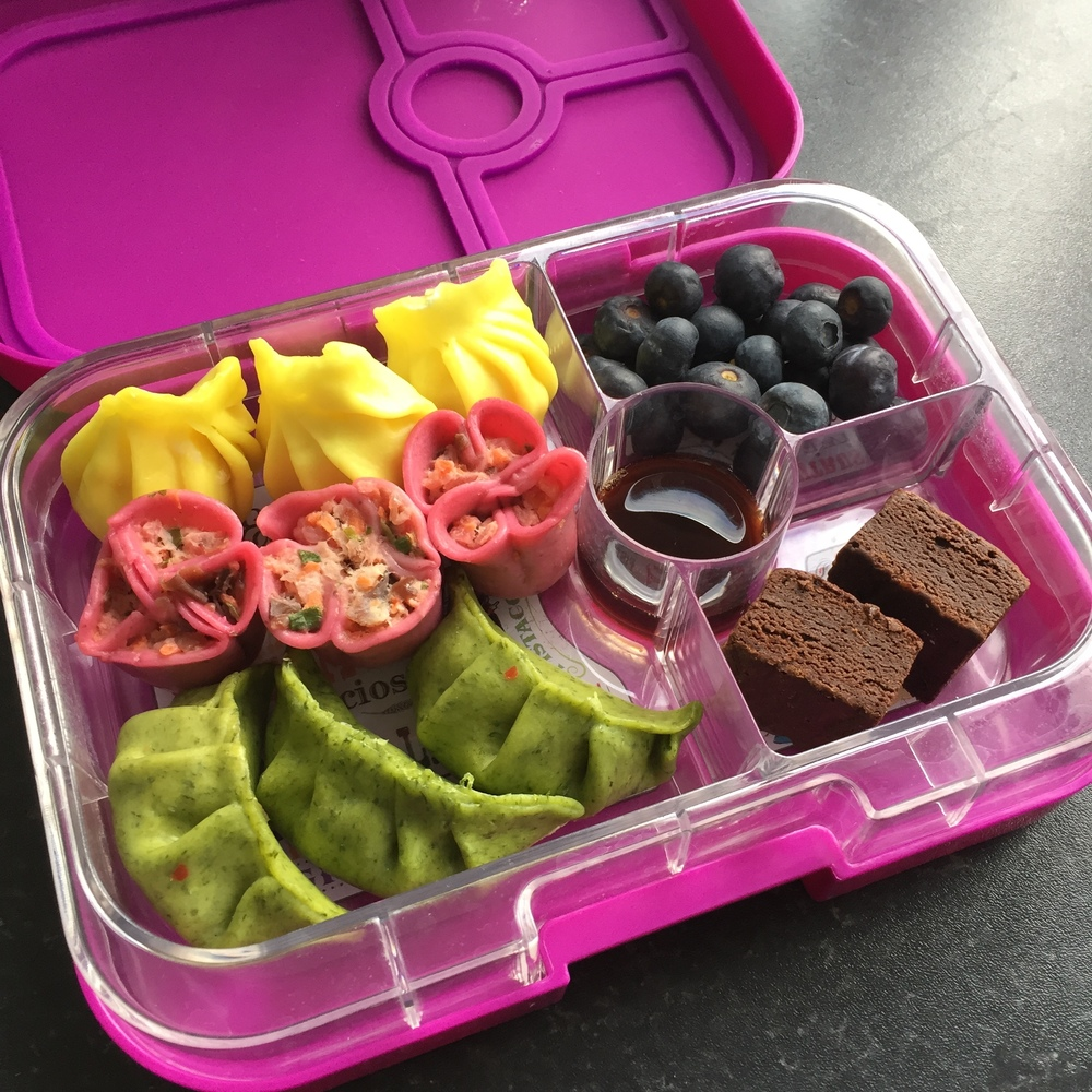 The Yumbox Panino with Dim Sum