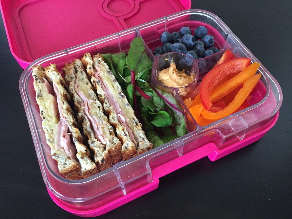 The Yumbox Panino Finger Sandwiches